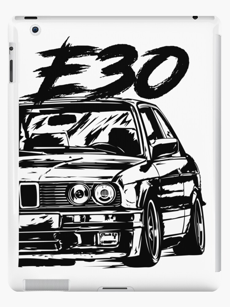 e30 dirty style ipad cases skins by glstkrrn redbubble Custom BMW E30 e30 dirty style by glstkrrn