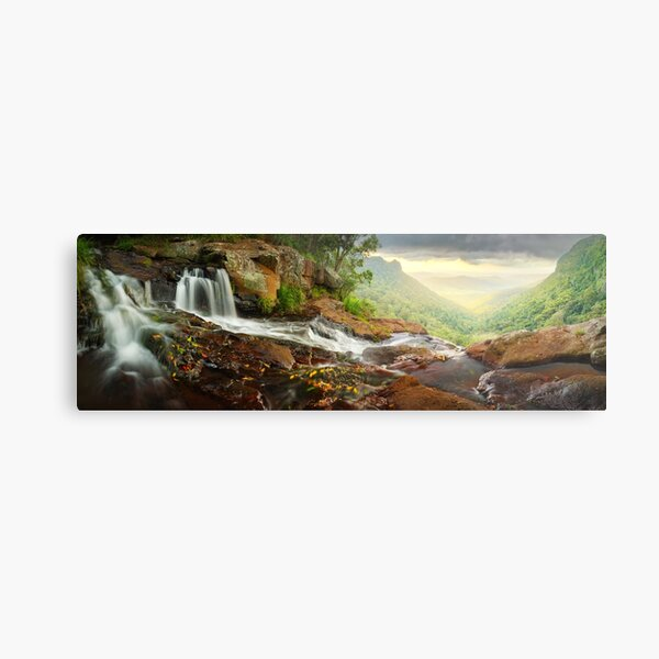 Morans Falls, Lamington National Park, Queensland, Australia Metal Print