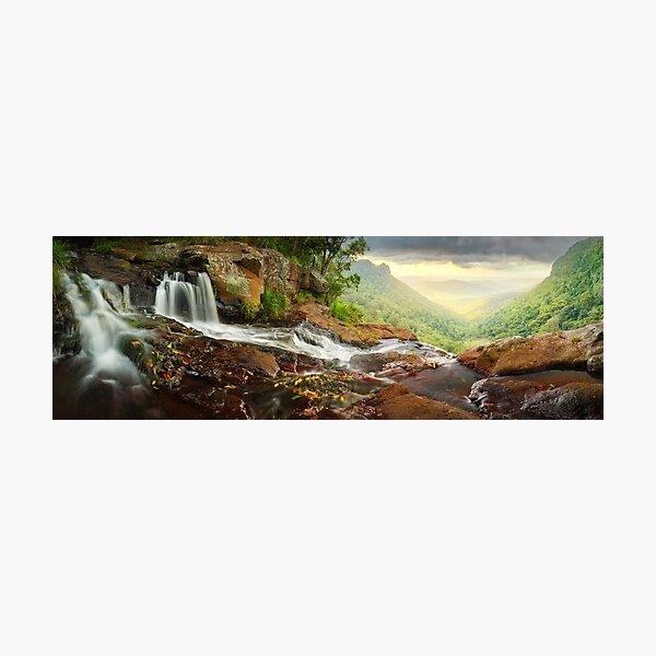 Morans Falls, Lamington National Park, Queensland, Australia Photographic Print