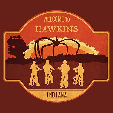 Welcome to Hawkins by mctees