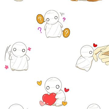 Mii Kun / Mii-kun (How to Keep a Mummy) Stickers by limbo