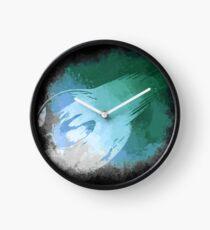 Final Fantasy VII logo Clock