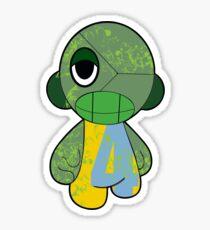 GO GREEN MUNNY Sticker