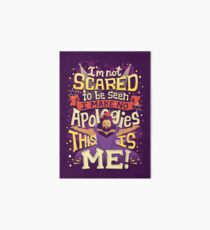 This is me Art Board Print