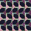 Ultra Deco 4 #redbubble #ultraviolet #artdeco by designdn