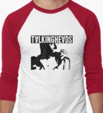 Talking heads vector Men's Baseball ¾ T-Shirt