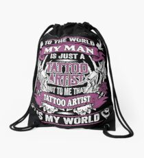 Gifts for Tattoo Artist Wife or Girlfriend Drawstring Bag