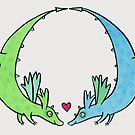 Flying Dragon Love by zoel