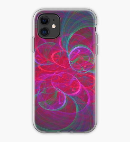 Orbital fractals iPhone Case