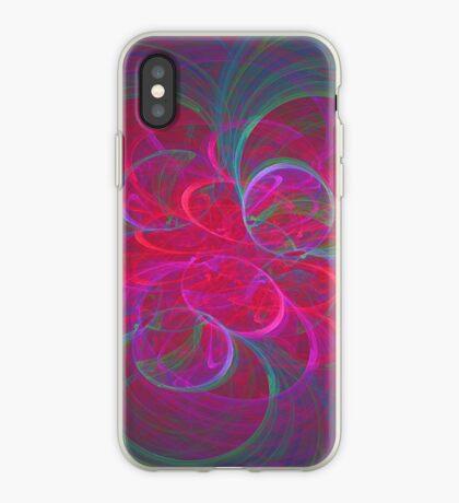 Orbital fractals iPhone Case