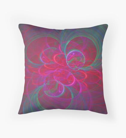 Orbital fractals Floor Pillow