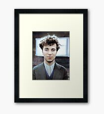 Charlie Chaplin in 1916, at the age of 27 Framed Print
