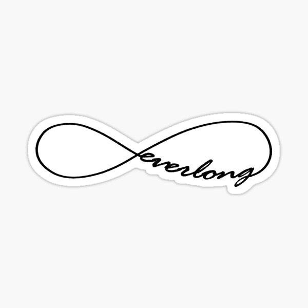 Everlong Infinity Symbol Sticker