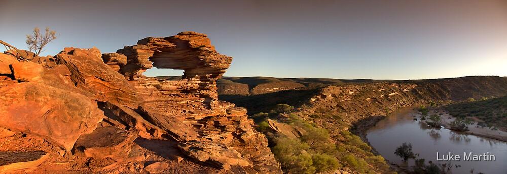 Nature's Window Panorama by Luke Martin