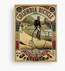 Vintage Poster - Bicycle Advertising Canvas Print