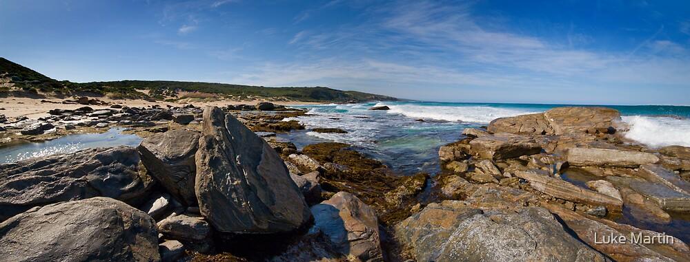 Wyliabrup Rocks Panorama by Luke Martin