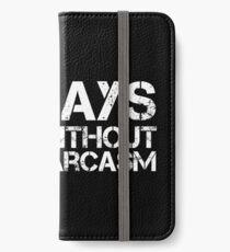 Sarcastic iPhone Wallet/Case/Skin