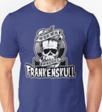 Memento Ohm Logo FrankenSkull Unisex T-Shirt