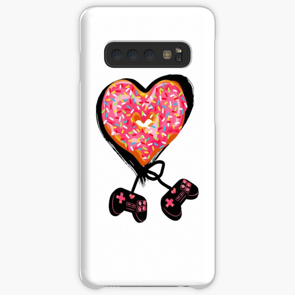 Gaming Console Donut T-Shirt for Donut Lover and Gamer Shirt Gift Case & Skin for Samsung Galaxy