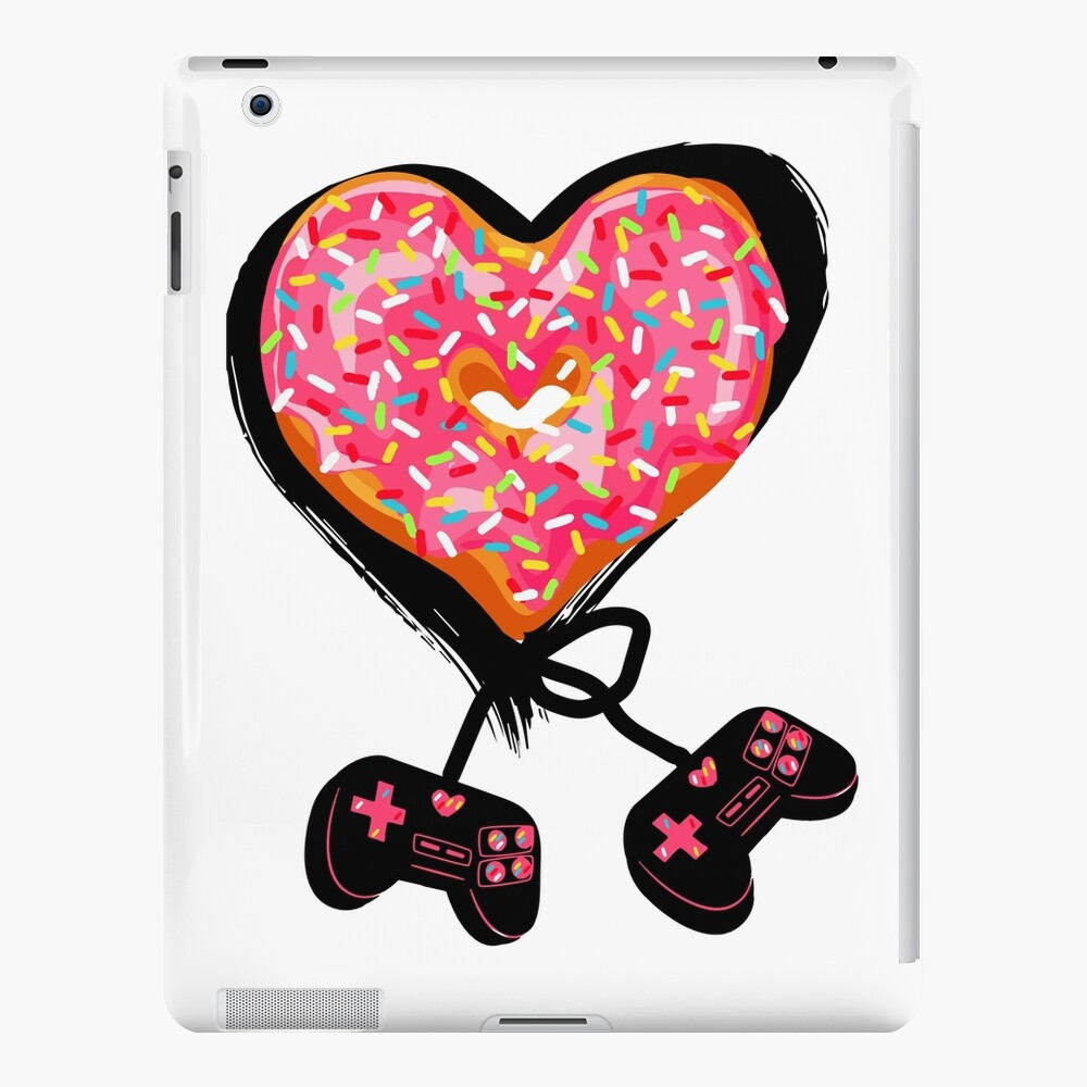Gaming Console Donut T-Shirt for Donut Lover and Gamer Shirt Gift iPad Case & Skin