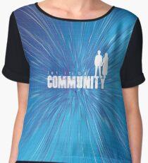 u2 community Chiffon Top