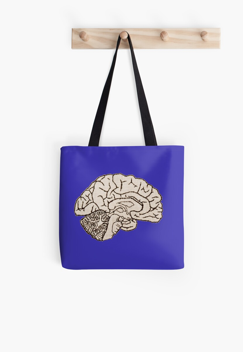 hemisected brain by embroidology-SB
