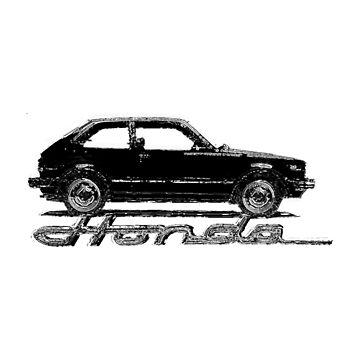 Classic Honda Civic by tnarg227