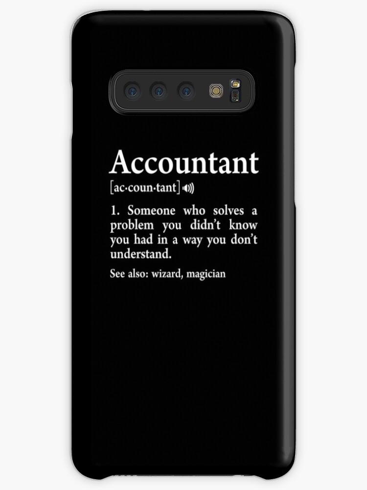 «Contador Definición Significado Asistente Funny Accounting Gift» de JapaneseInkArt