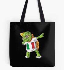Italy Dabbing Turtle Tote Bag