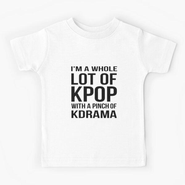 MUCHO KPOP - ROSA Camiseta para niños