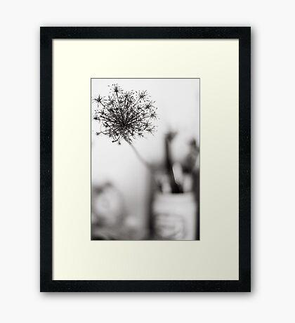 Grassy Muse Framed Print