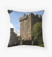 Blarney Castle keep - Ireland Throw Pillow
