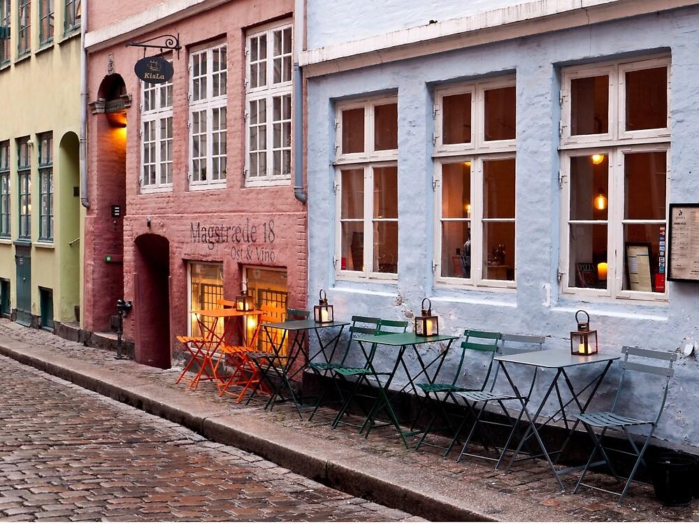 Patio in Copenhagen by Rae Tucker