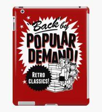 Retro Classics, Back By Popular Demand iPad Case/Skin