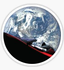 SpaceX Starman Sticker