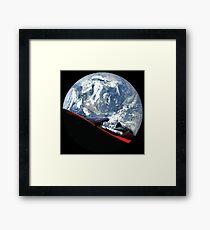 SpaceX Starman Framed Print