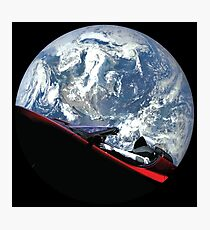 SpaceX Starman Photographic Print