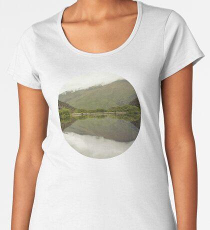 Reflexionen von Diamond Lake Frauen Premium T-Shirts