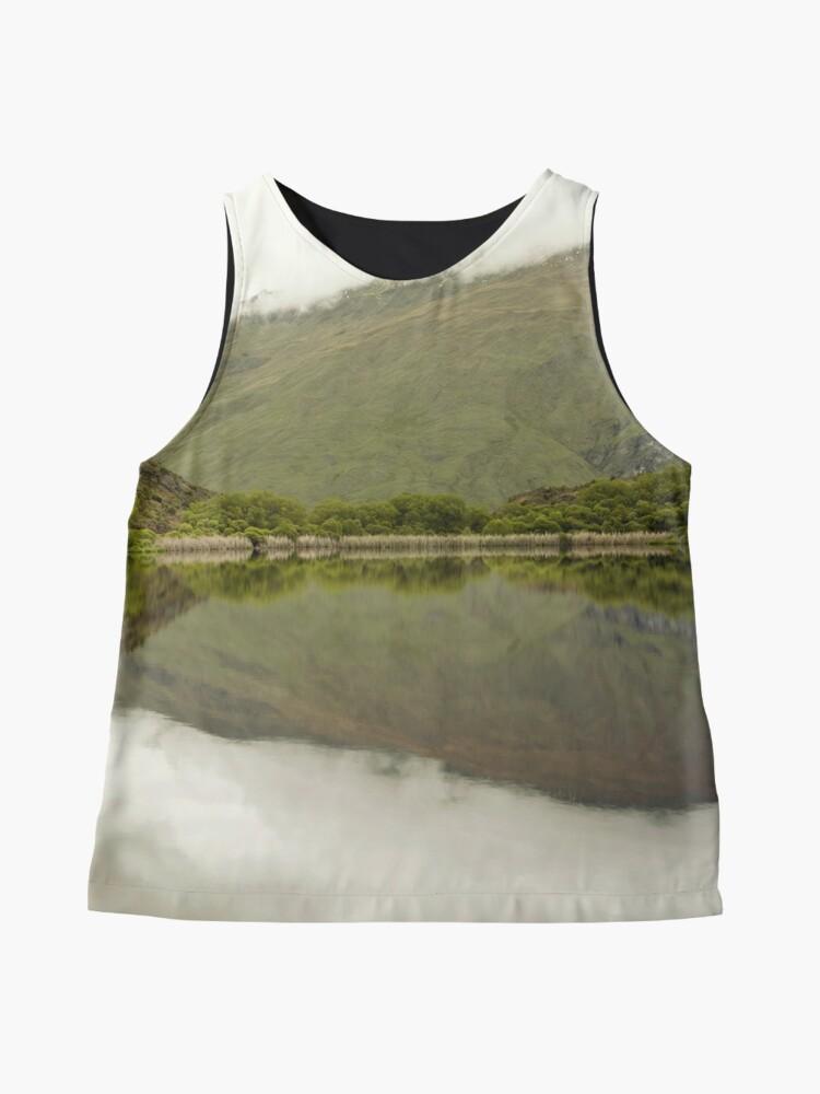 Alternative Ansicht von Reflexionen von Diamond Lake Ärmelloses Top