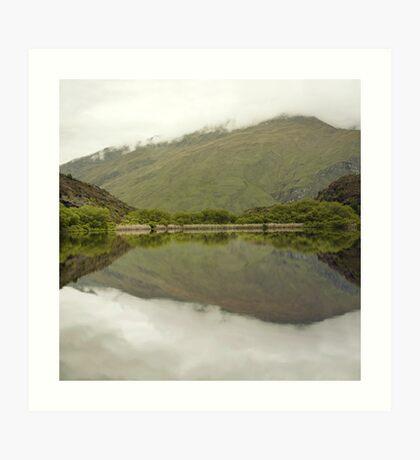 Reflexionen von Diamond Lake Kunstdruck