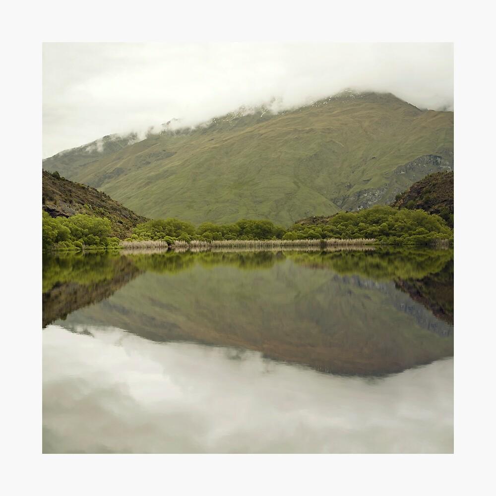 Reflexionen von Diamond Lake Fotodruck