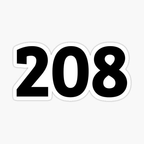 208 Sticker