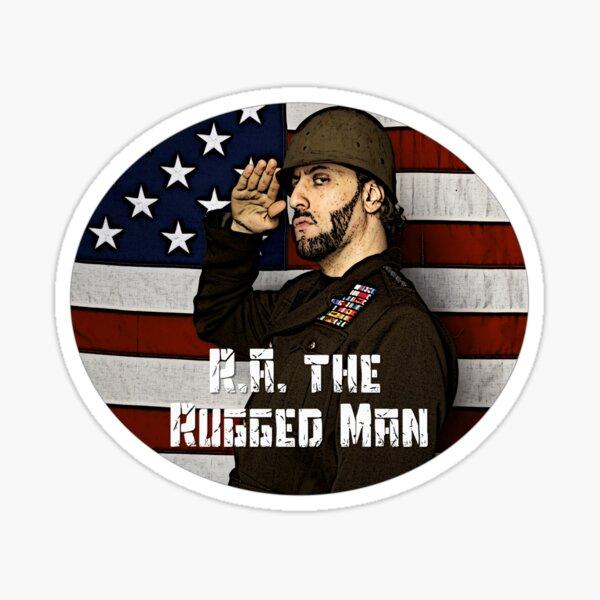 Rugged Man Sticker