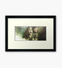 Allydia - Teen Wolf Poster Framed Print