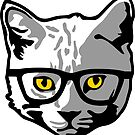 Hipster Cat by pda1986