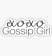 XOXO Gossip Girl Sticker