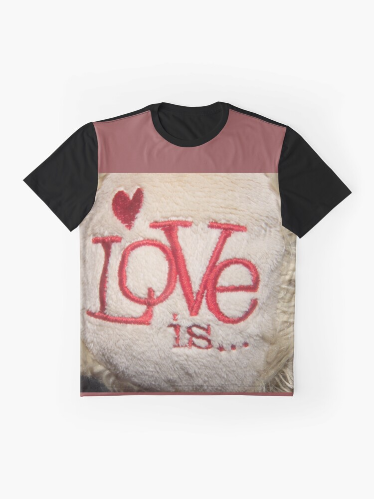 Alternate view of What's Love? Graphic T-Shirt