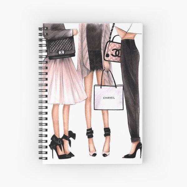 Fashion Group Spiral Notebook