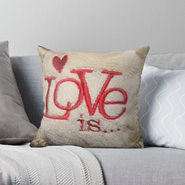 What's Love? Throw Pillow