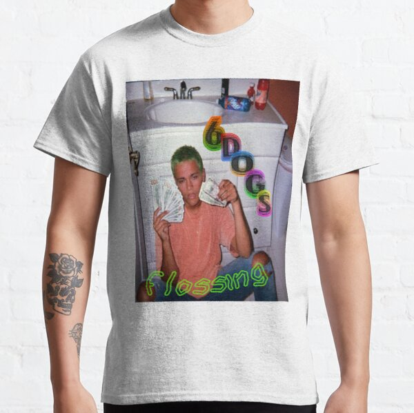 Affiche de soie dentaire T-shirt classique